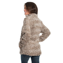 Heather Sherpa Pullover with Pockets in Caribou by The Southern Shirt Co.
