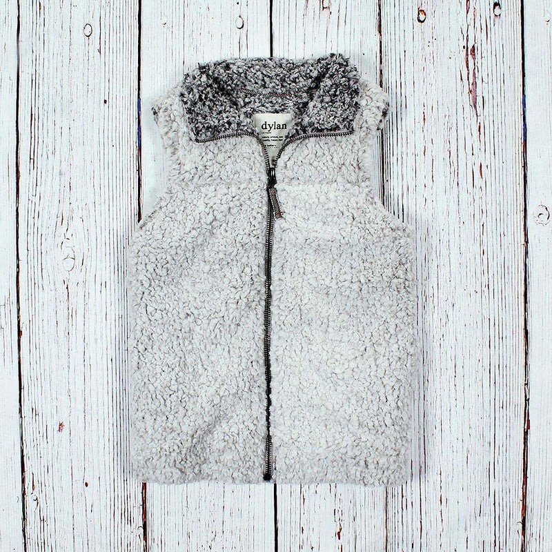 Women's Frosty Tipped Stadium Vest - The Sherpa Pullover Company