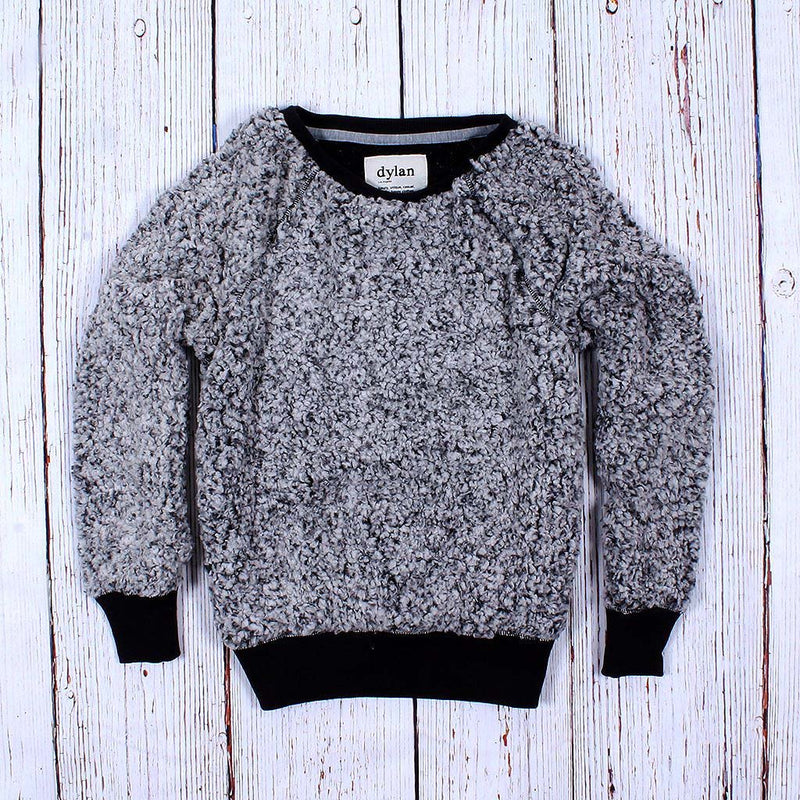 Frosty Tipped Cozy Sweatshirt - The Sherpa Pullover Company
