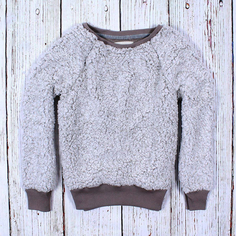 Frosty Tipped Cozy Sweatshirt - Dylan - The Sherpa Pullover Outlet
