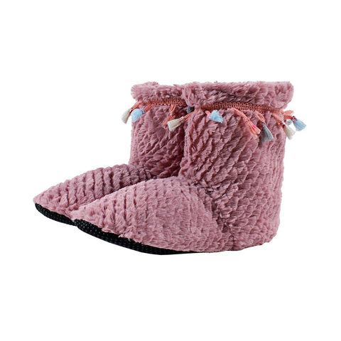 Tassel Sherpa Fleece Booties