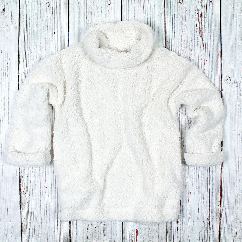 Frosty Tipped Cuffed Pullover - Dylan - The Sherpa Pullover Outlet