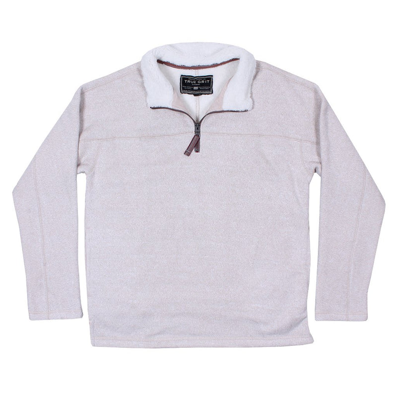 Varsity Fleece 1/4 Zip Pullover - True Grit - The Sherpa Pullover Outlet