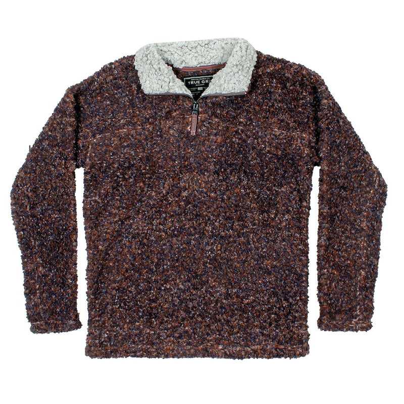 True Grit Texture Sherpa 1 4 Zip Pullover The Sherpa