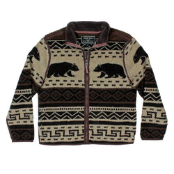 Tribal Bear Jacket - True Grit - The Sherpa Pullover Outlet
