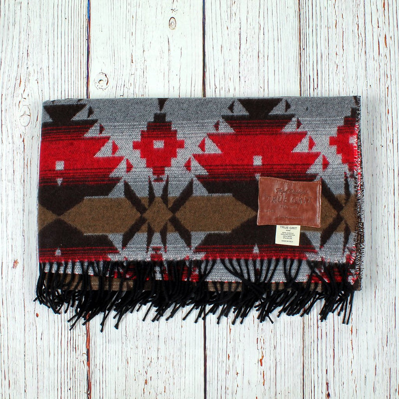 Apache Fringe Blanket - True Grit - The Sherpa Pullover Outlet