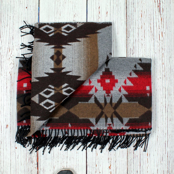 Apache Fringe Blanket - The Sherpa Pullover Company