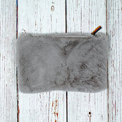 Shearling Soft Clutch - The Sherpa Pullover Company