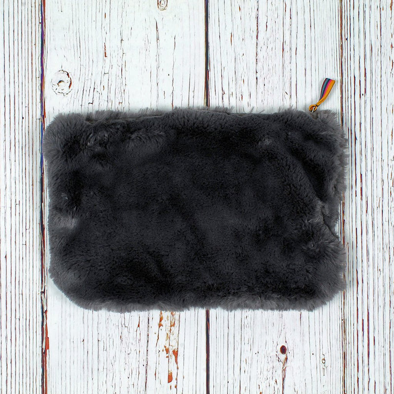 Shearling Soft Clutch - Dylan - The Sherpa Pullover Outlet