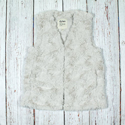 Faux Fur Plush Vest - Dylan - The Sherpa Pullover Outlet
