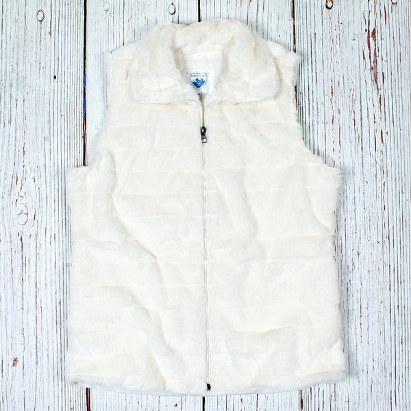 Trondheim Faux Fur Vest - The Sherpa Pullover Company