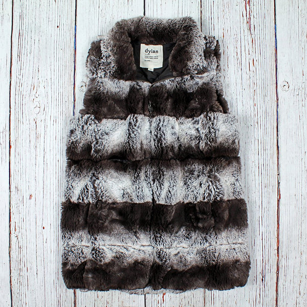 Aspen Fur Love Vest - The Sherpa Pullover Company