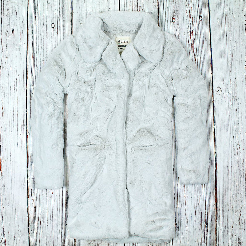 Shearling Faux Fur Coat - True Grit - The Sherpa Pullover Outlet