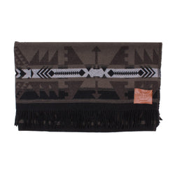 Taos Fringe Blanket - True Grit - The Sherpa Pullover Outlet