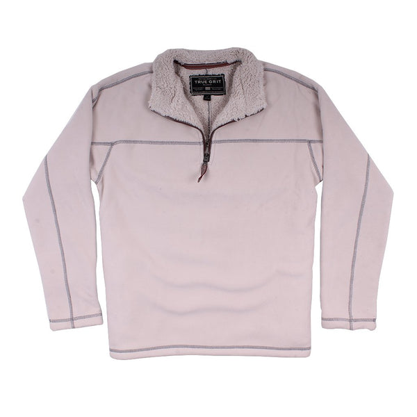 True Grit Bonded Polar Fleece Amp Sherpa Lined 1 4 Zip Pullover The Sherpa Pullover Company