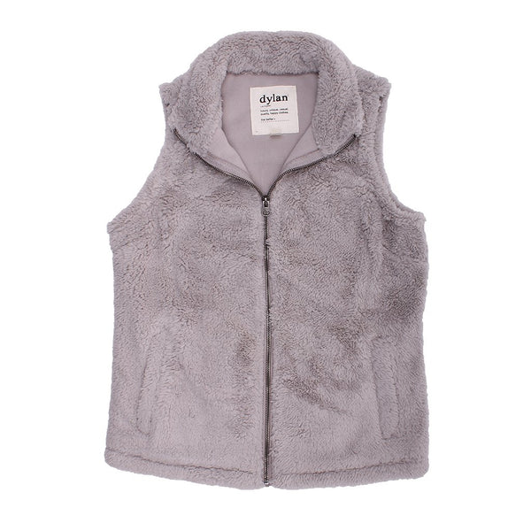Polar Fleece Shelly Vest - FINAL SALE - Dylan - The Sherpa Pullover Outlet