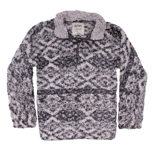 Tribal Frosty Tipped Women's Stadium Pullover - Dylan - The Sherpa Pullover Outlet