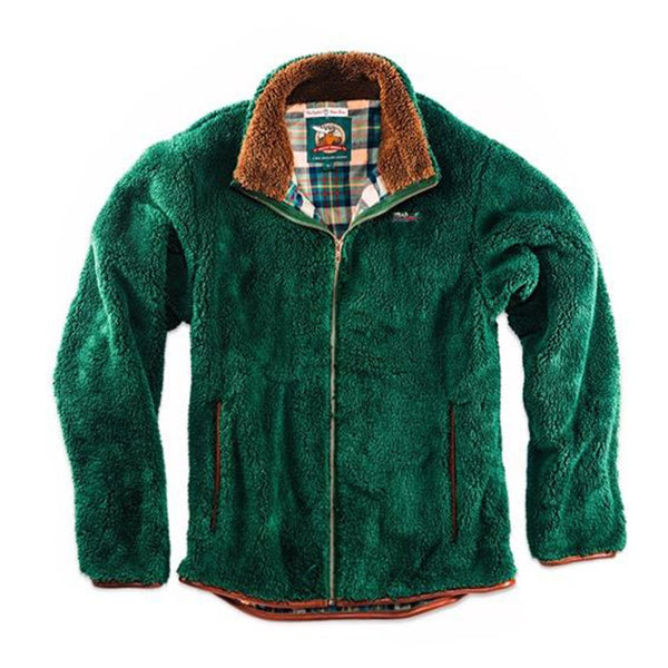 The Adirondack Moose Fleece - Kiel James Patrick - The Sherpa Pullover Outlet