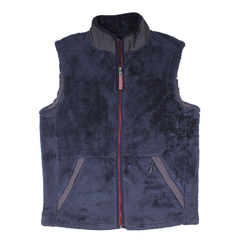 Luxe Double Plush Full Zip Vest - True Grit - The Sherpa Pullover Outlet