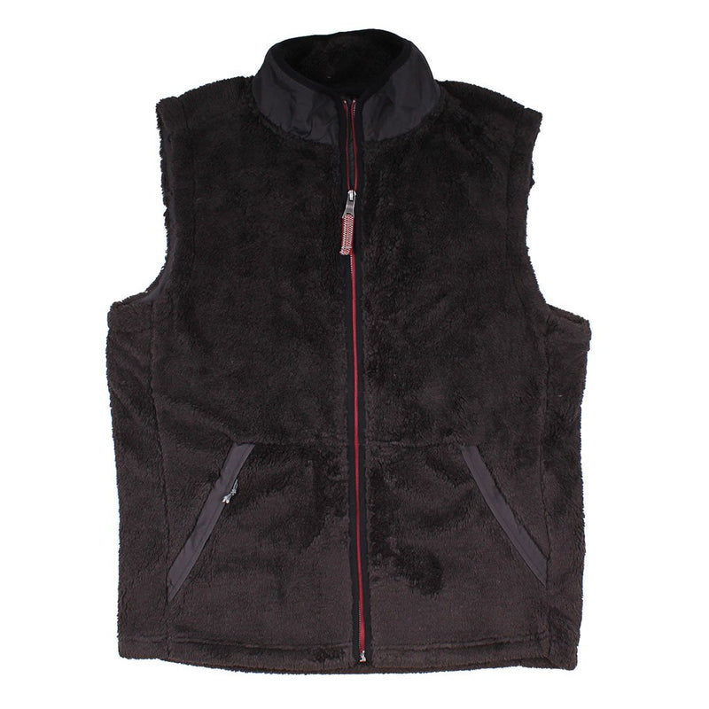 Luxe Double Plush Full Zip Vest - FINAL SALE - True Grit - The Sherpa Pullover Outlet