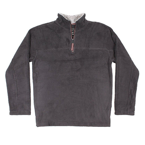 Big Sky Fleece 1/4 Zip Pullover - True Grit - The Sherpa Pullover Outlet