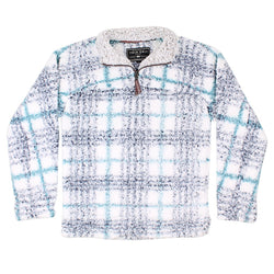 Frosty Tipped Taos Pile 1/4 Zip Pullover - True Grit - The Sherpa Pullover Outlet