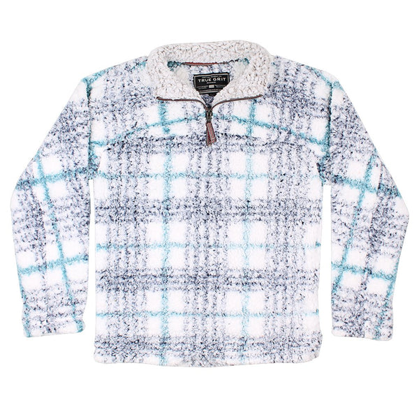 Frosty Tipped Taos Pile 1/4 Zip Pullover - FINAL SALE - True Grit - The Sherpa Pullover Outlet