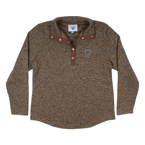 Golden Circle Fleece Pullover