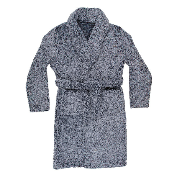 Double Sided Frosty Fleece Robe - The Sherpa Pullover Company