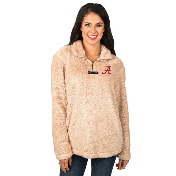 Collegiate Linden Sherpa Pullover - The Sherpa Pullover Company
