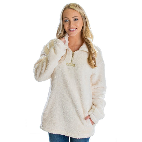 Linden Sherpa Pullover 2.0 - FINAL SALE - Lauren James - The Sherpa Pullover Outlet