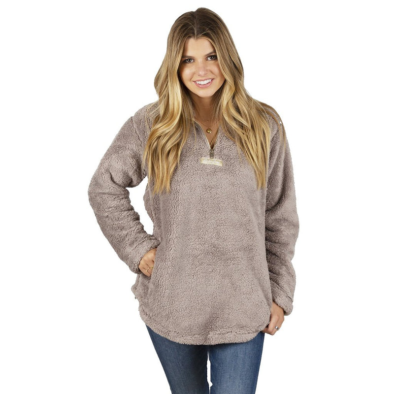 Linden Sherpa Pullover 2.0 - Lauren James - The Sherpa Pullover Outlet
