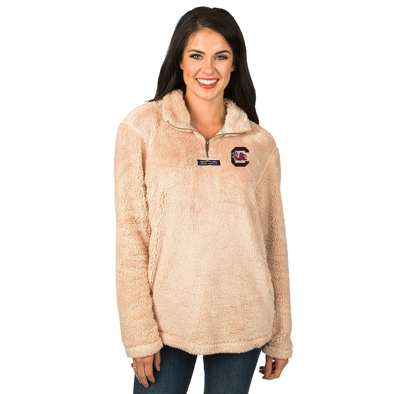 Collegiate Linden Sherpa Pullover - FINAL SALE - Lauren James - The Sherpa Pullover Outlet