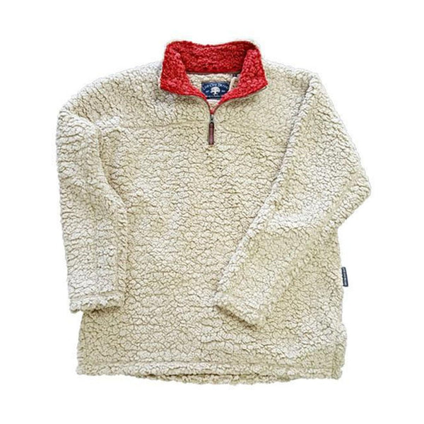 Quarter Zip Fleece Sherpa - FINAL SALE - Live Oak - The Sherpa Pullover Outlet
