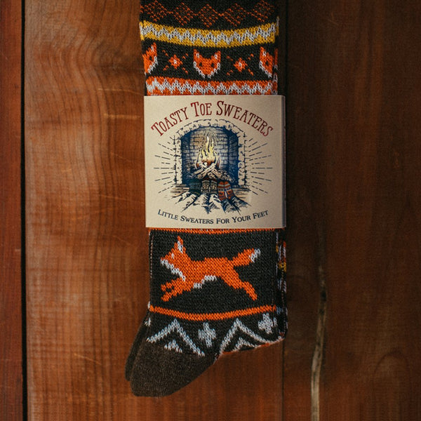 Fantastic Fox Socks by Kiel James Patrick - Kiel James Patrick - The Sherpa Pullover Outlet