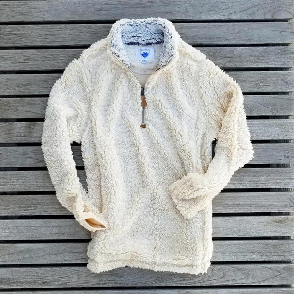 The Victoria Sherpa Pullover - Nordic Fleece - The Sherpa Pullover Outlet