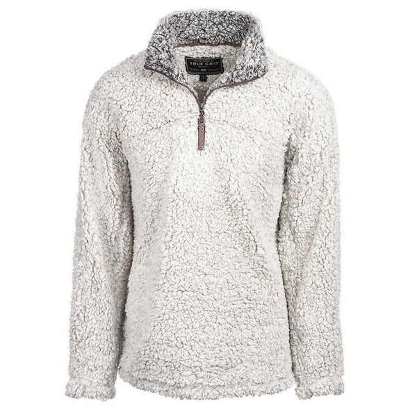 The Original Frosty Tipped Pullover - True Grit - The Sherpa Pullover Outlet