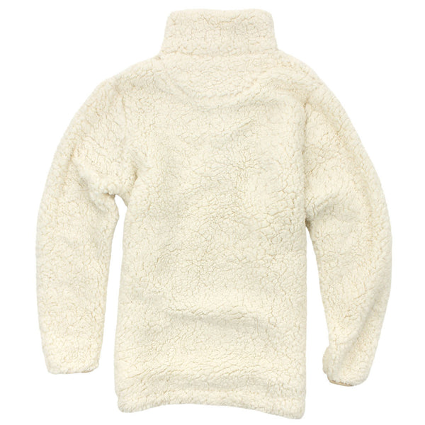 Everest Clothing Sherpa Snap Pullover In Ivory Ultra Fast Shipping The Sherpa Pullover Company