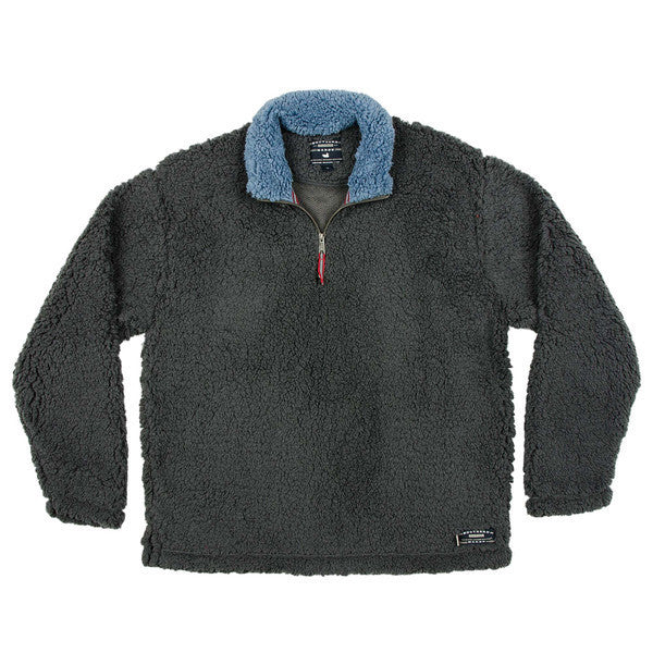Appalachian Pile Pullover - Southern Marsh - The Sherpa Pullover Outlet