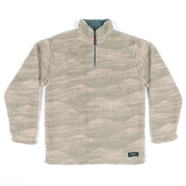 Southern Marsh High Mesa Sherpa Pullover In The Sherpa