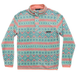 Pisgah Aztec Pullover - Southern Marsh - The Sherpa Pullover Outlet