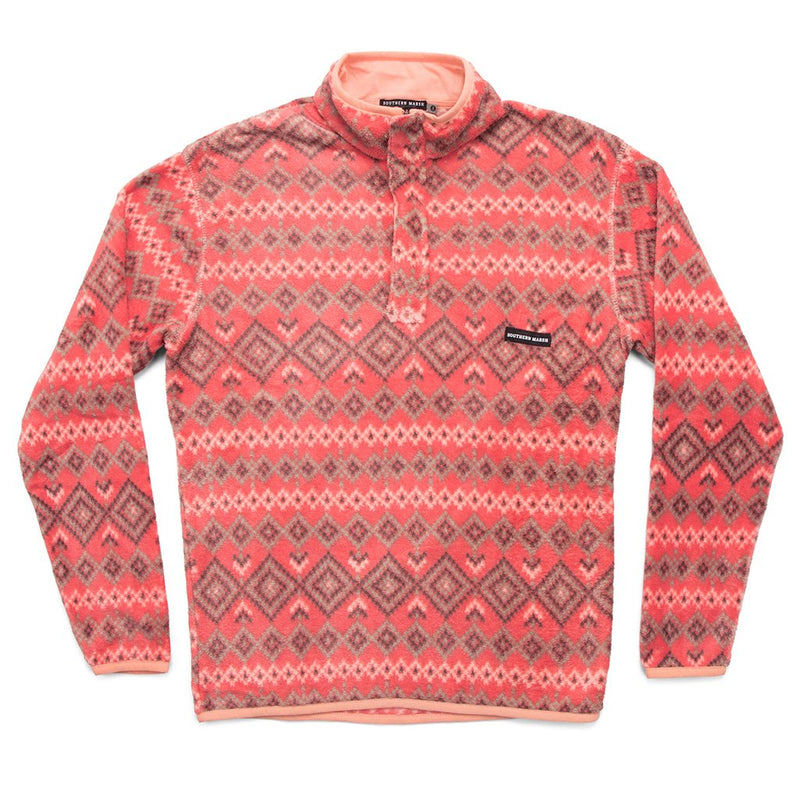 Pisgah Aztec Pullover - FINAL SALE - Southern Marsh - The Sherpa Pullover Outlet