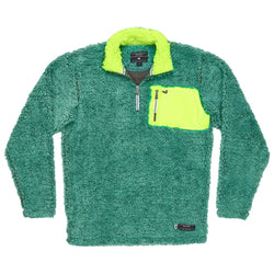 Youth Piedmont Range Sherpa Pullover - Southern Marsh - The Sherpa Pullover Outlet