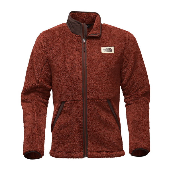 The North Face Men S Campshire Full Zip Sherpa Fleece The Sherpa Pullover Company