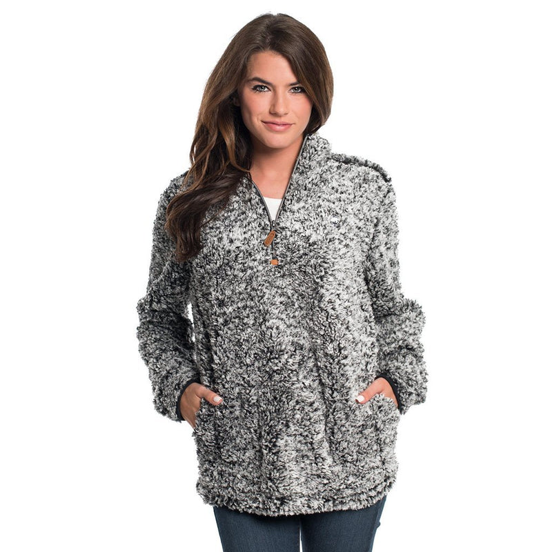 Heather Sherpa Pullover with Pockets - The Southern Shirt Co. - The Sherpa Pullover Outlet