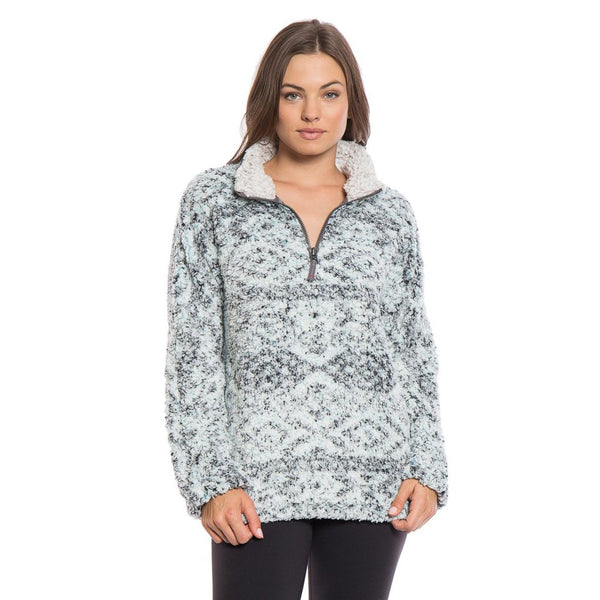 Tribal Frosty Tipped Women's Stadium Pullover - True Grit - The Sherpa Pullover Outlet