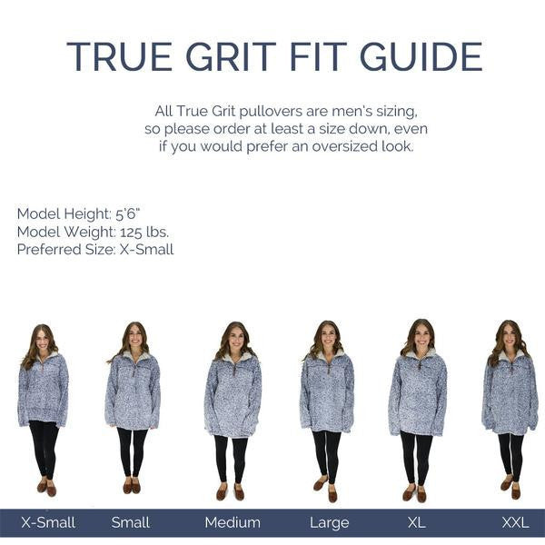True Grit Frosty Tipped Pullover Ultra Soft Pullovers Ship Same
