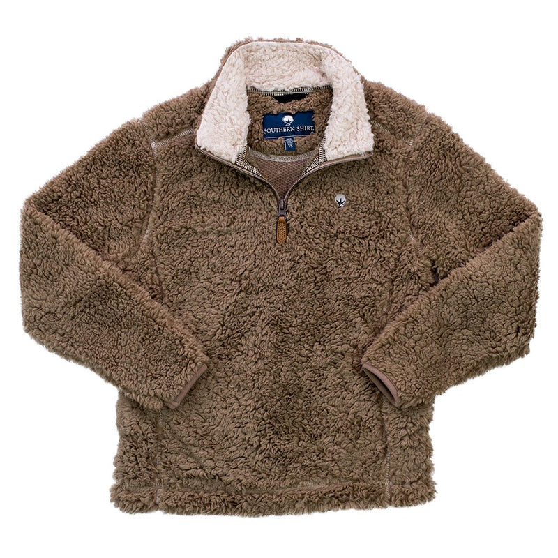 YOUTH Sherpa Pullover with Pockets - FINAL SALE - The Southern Shirt Co. - The Sherpa Pullover Outlet