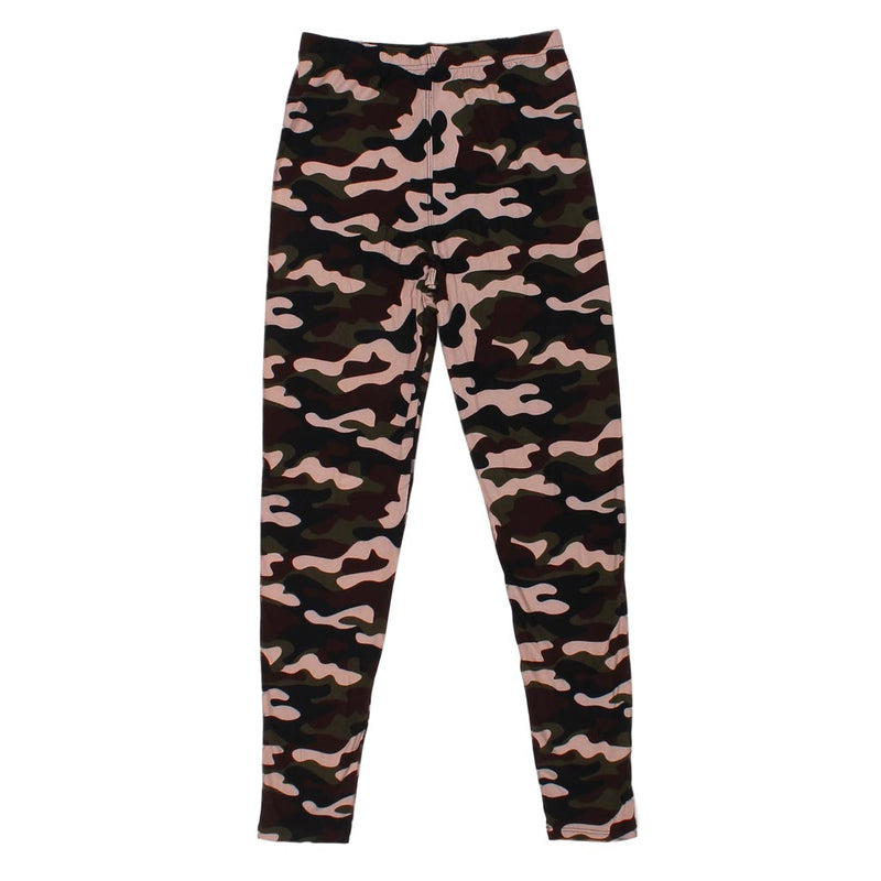 Forest Camo Leggings - Queens Designs - The Sherpa Pullover Outlet