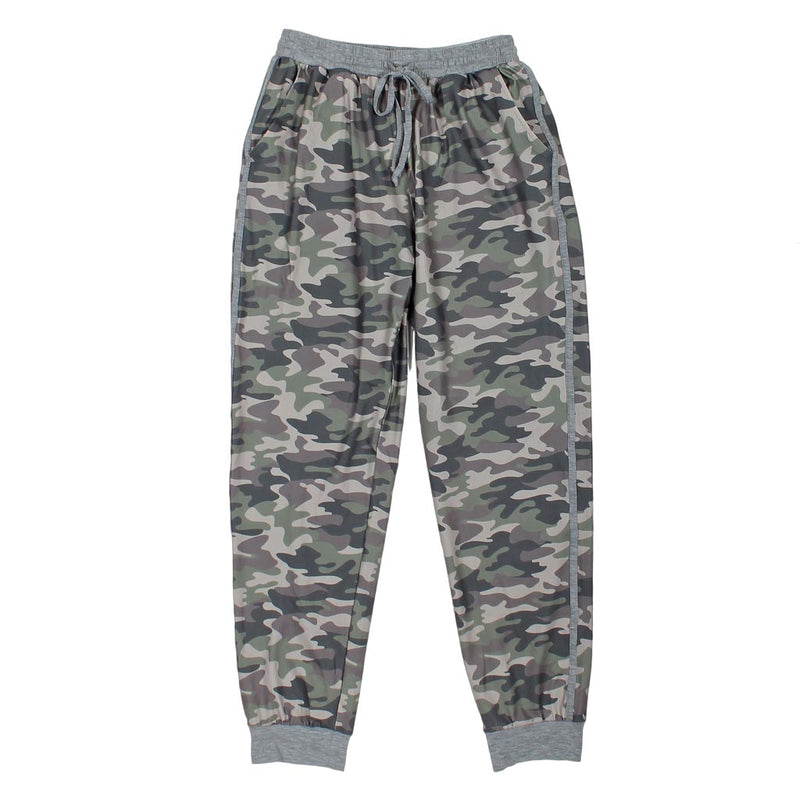 Camo Banded Joggers by Nordic Fleece - Nordic Fleece - The Sherpa Pullover Outlet